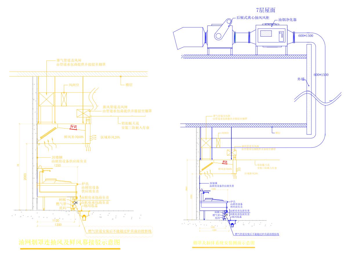 vwin德赢娱乐网 下载入口油烟治理工程设计方案图纸