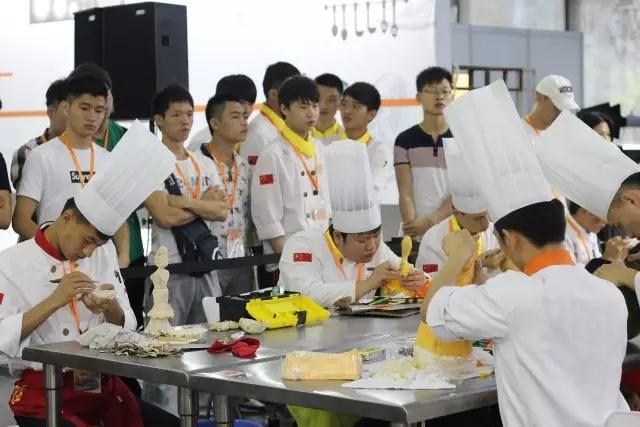 第二届中国烹饪铁人赛-厨师
